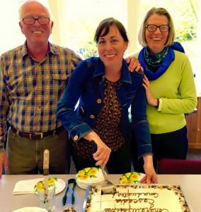 Roger, Cassandra, and Mary at CCL Graduation 2015